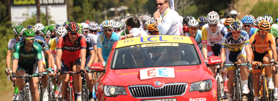 neuer Skoda Superb: Premiere bei der Tour de France