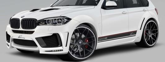 neues BMW X5 Luxus-SUV: Tuning von Lumma Design