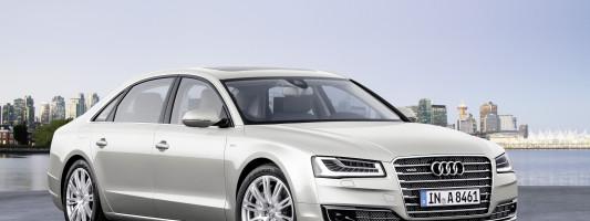 Audi A8 Facelift Weltpremiere
