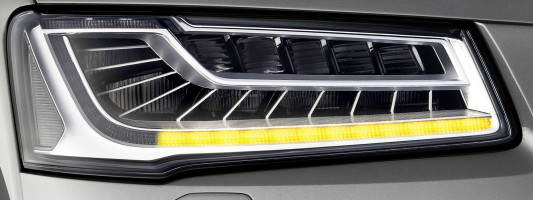 Audi A8: neues Matrix LED-Blinklicht