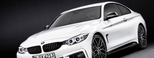 neues BMW 4er Coupé mit M Performance-Zubehör: Weltpremiere auf der IAA 2013