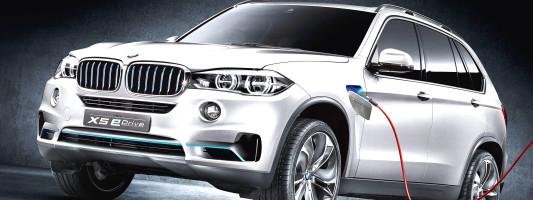 BMW Concept X5 eDrive: Premiere auf der IAA 2013