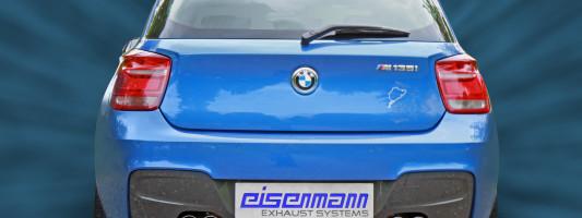 BMW M135i: Eisenmann Sportauspuff