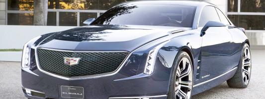 Cadillac Elmiraj Konzept-Coupé und der CTS: Premiere auf der IAA 2013