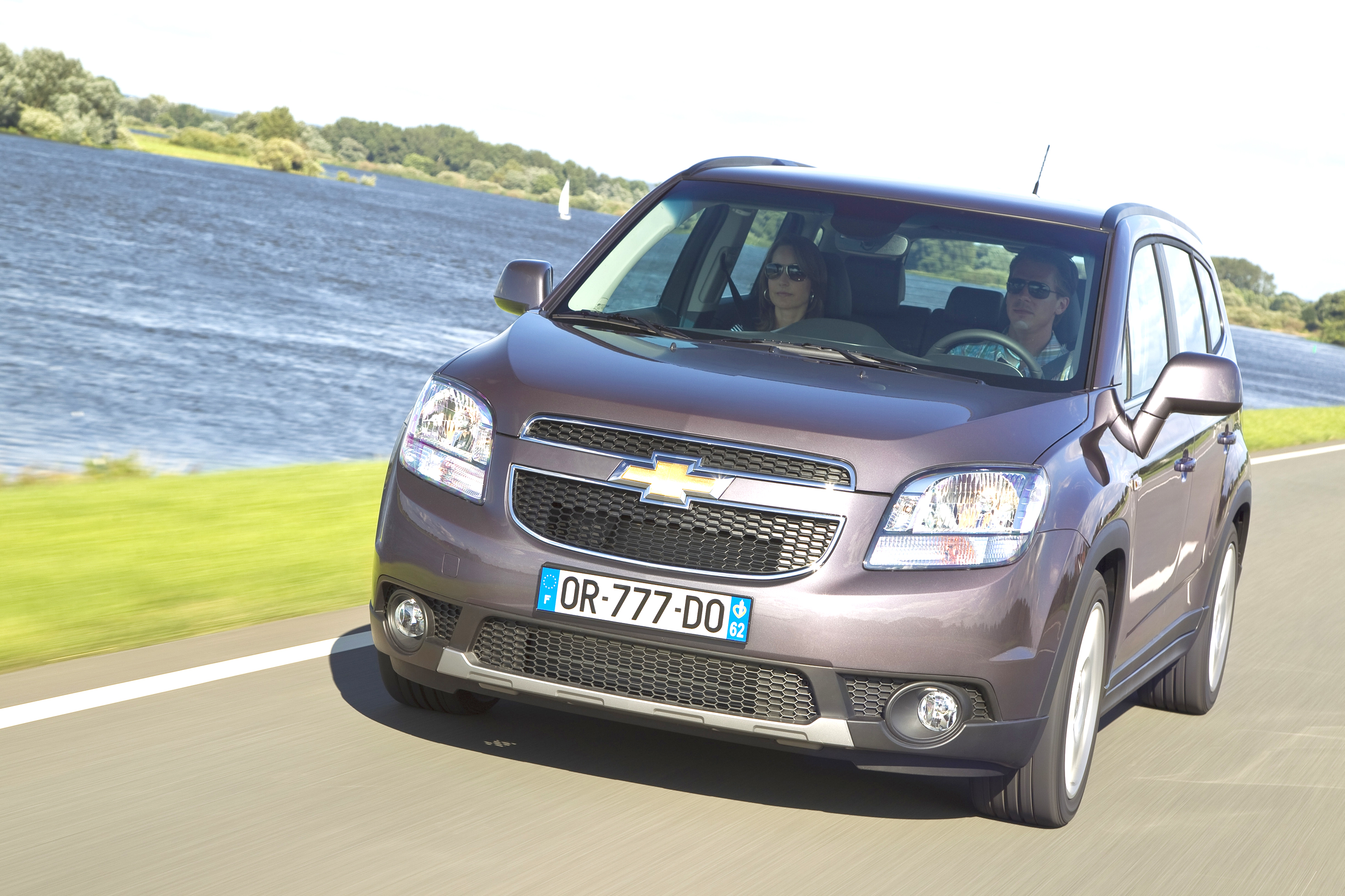 New Chevrolet Orlando family van