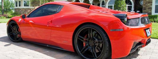 Ferrari 458 Spider: MEC Design CCd5 konkave Felge