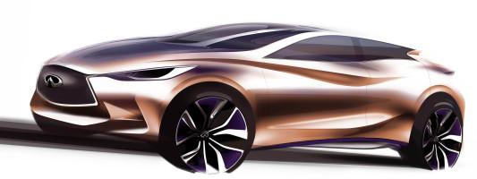 Infiniti Q30 Konzeptfahrzeug: Weltpremiere auf der IAA 2013