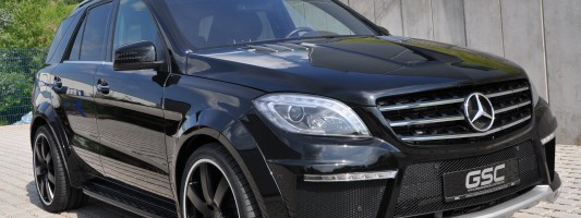 Mercedes-Benz ML Widebody: German Special Customs