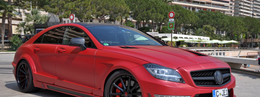 Mercedes CLS 63 AMG Stealth: Tuning von German Special Customs