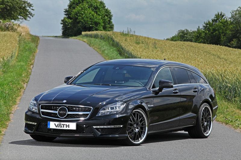 Der Tuningblogger Mercedes Cls 63 Amg Shooting Brake Tuning Von Väth