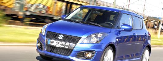 Neuer Suzuki Swift Sport 5-Türer