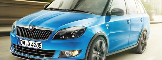 Neues Sondermodell Škoda Fabia Combi Monte Carlo