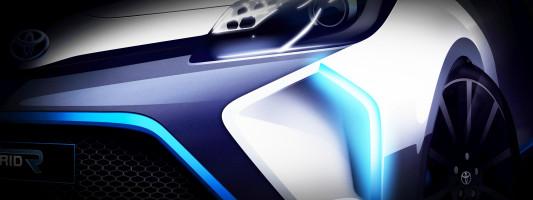 Toyota Hybrid-R Konzeptfahrzeug: Premiere auf der IAA 2013