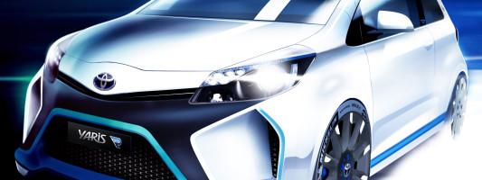 Toyota Yaris Hybrid R-Konzept: Weltpremiere auf der IAA 2013