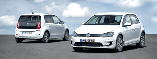 VW e-up! und e-Golf: Premiere auf der IAA 2013