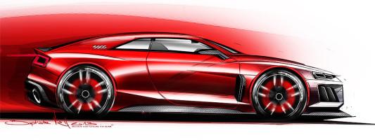 neue Audi quattro Coupé Studie: IAA Premiere