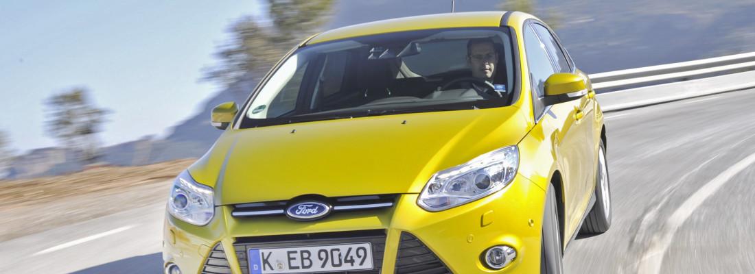 neuer Ford Focus mit dem 1,0-Liter-EcoBoost-Motor