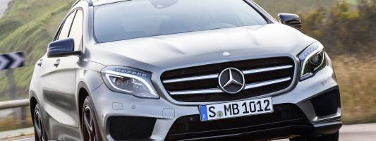 neuer Mercedes-Benz GLA