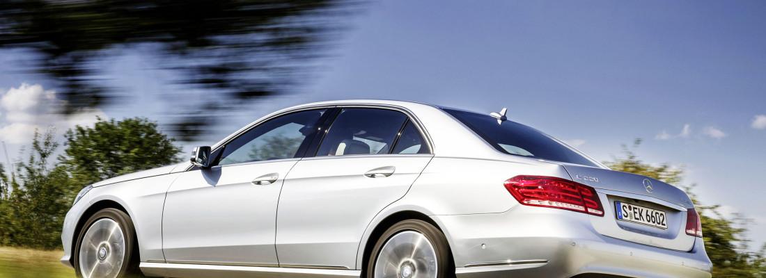 neuer Mercedes E 200 Natural Gas Drive