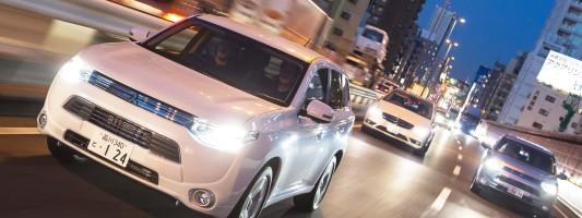 neuer Mitsubishi Outlander PHEV: IAA Premiere