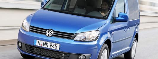 neuer VW Caddy BlueMotion: Premiere auf der IAA 2013