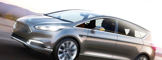 neues Ford S-Max Concept auf der IAA 2013