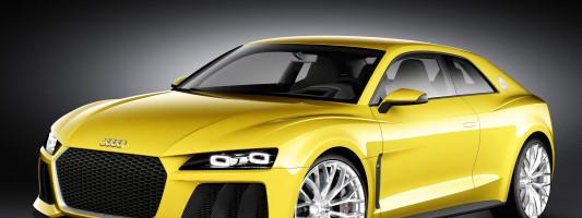 Audi Sport Quattro Concept auf der IAA 2013