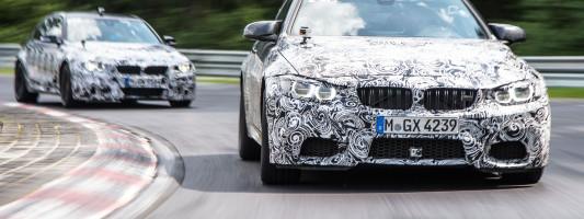 BMW M3 Limousine und BMW M4 Coupé: neue Motoren