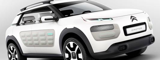 Citroën Cactus: Konzeptfahrzeug auf der IAA 2013