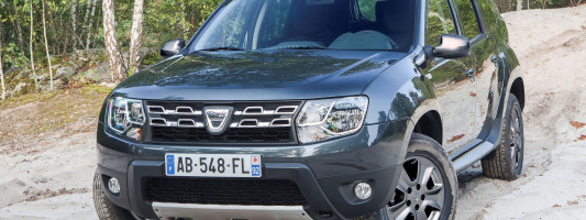 Dacia Duster Facelift auf der IAA 2013