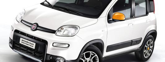 Fiat Panda 4×4 Antartica: Weltpremiere auf der IAA 2013