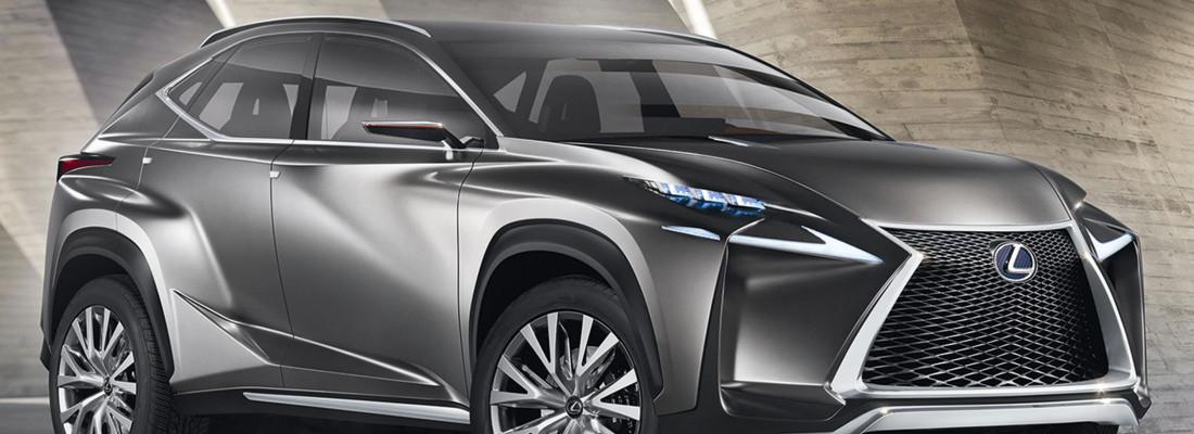 Lexus LF-NX: Crossover Konzeptfahrzeug auf der IAA 2013