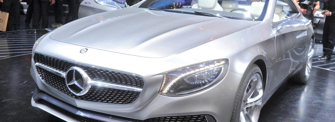 Mercedes-Benz S-Klasse Coupé Concept auf der IAA 2013