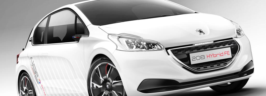 Peugeot 208 Hybrid FE: Demonstrationsfahrzeug auf der IAA 2013