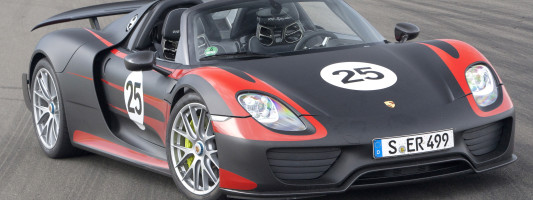 Porsche 918 Spyder: Weltpremiere auf der IAA 2013