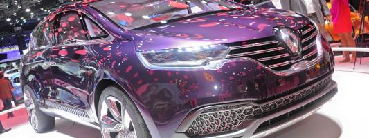 Renault Studie Initiale Paris auf der IAA 2013