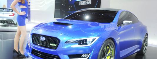 Subaru WRX Concept auf der IAA 2013