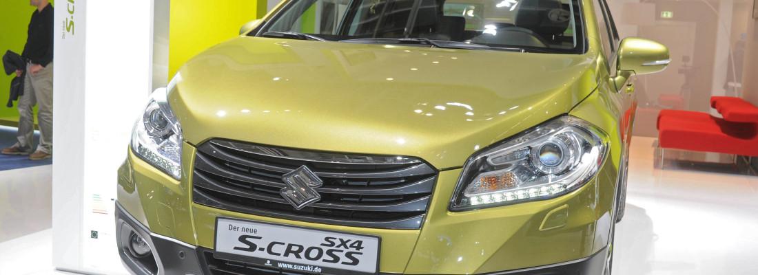 Suzuki SX4 S-Cross: Premiere auf der IAA 2013