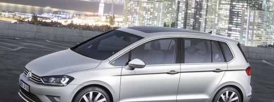 VW Golf Sportsvan: Weltpremiere der Studie auf der IAA 2013