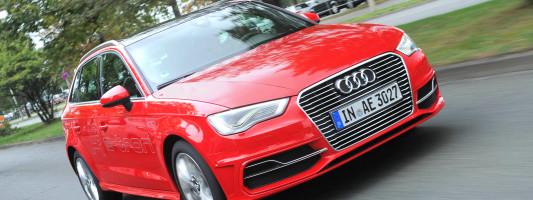 neuer Audi A3 Sportback e-tron