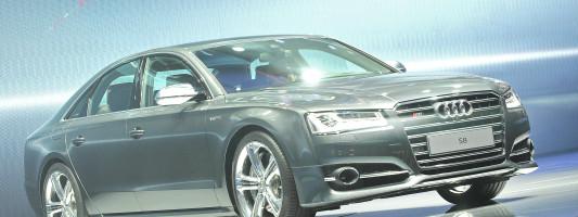 neuer Audi A8: Premiere auf der IAA 2013