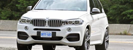 neuer BMW X5 M50d