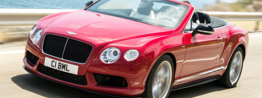 neuer Bentley Continental GT V8 S