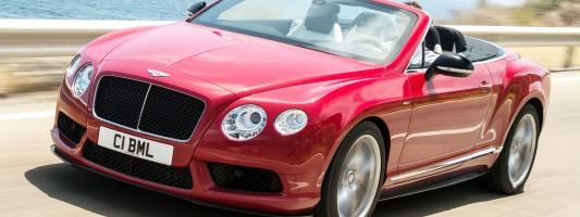 neuer Bentley Continental GT V8 S