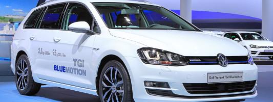 neuer VW Golf Variant TGI BlueMotion: Weltpremiere auf der IAA 2013