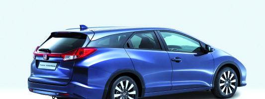 neuer Honda Civic Tourer auf der IAA 2013