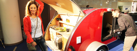 neuer Mini Cowley: Wohnwagen im Mini-Format