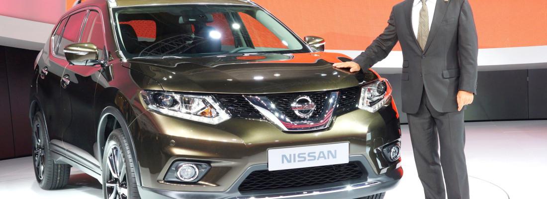 neuer Nissan X-Trail: Premiere auf der IAA 2013