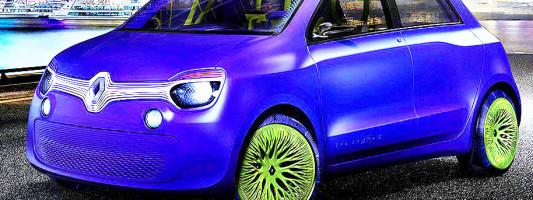 neuer Renault Twingo kommt 2014 auf dem Markt