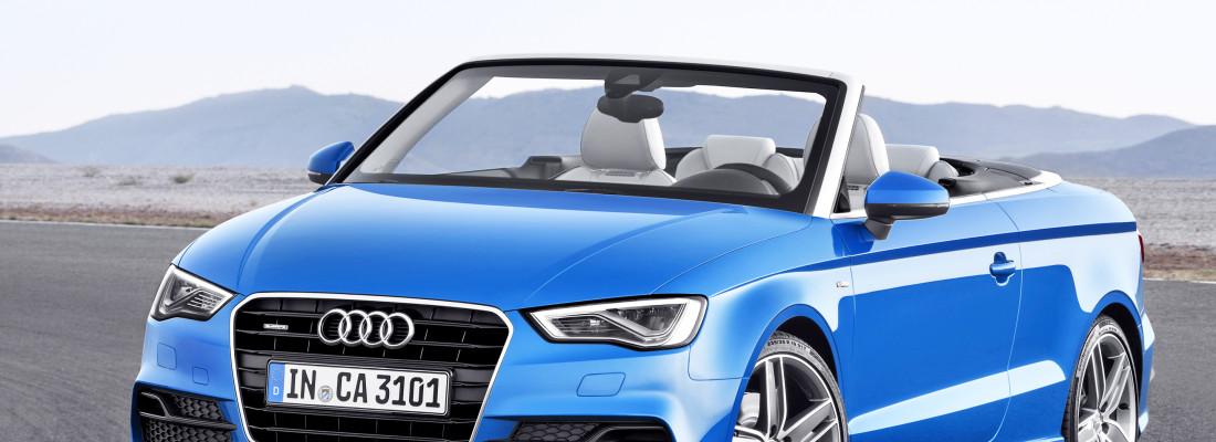 neues Audi A3 Cabrio auf der IAA 2013